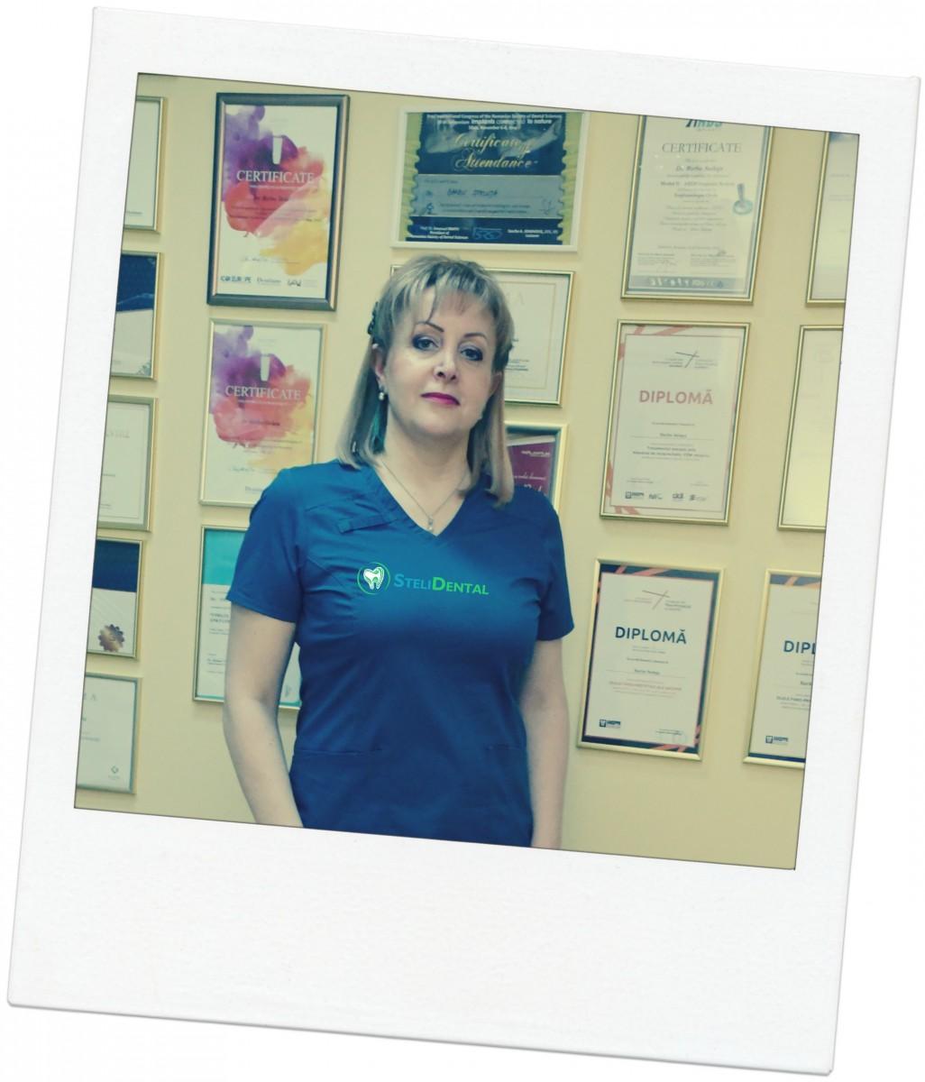Dentist bun în Brăila- Dr. Steluța Barbu