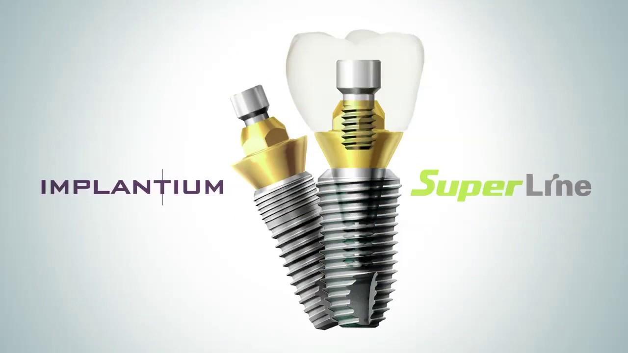 SteliDental lucrează cu implanturi dentare marca Dentium